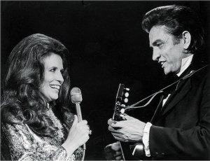 Johnny Cash & June Carter Cash singing together