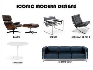 Iconic Modern Designs