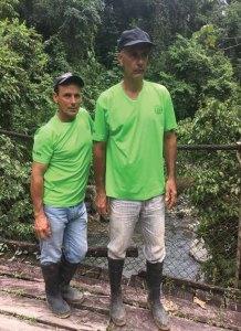 Wilberth Chacon (l) & Daniel Marin Carmona (r)