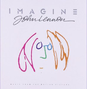 John Lennon Imagine cover