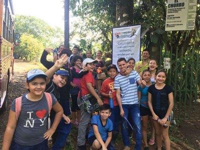 H2O  Escuela Villa Nueva Tree Planting