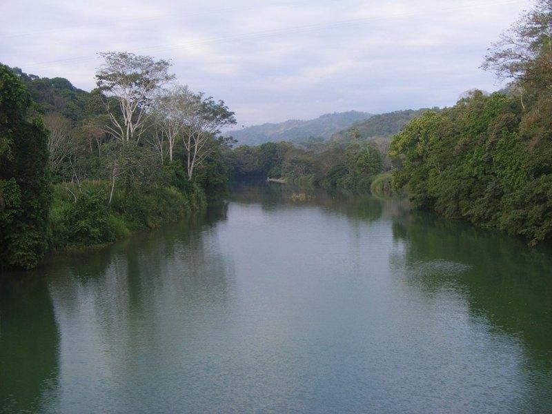 Barú River before