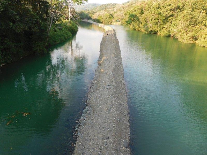 Barú River now