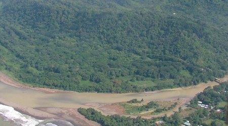Savegre River aerial