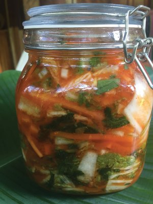 Jar of Kimchi