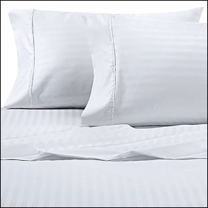 white pillows and sheets