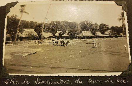Old photo of Dominical