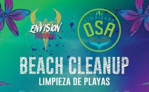Beach clean-up annoincement