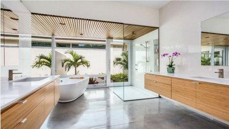 tropical oasis bathroom