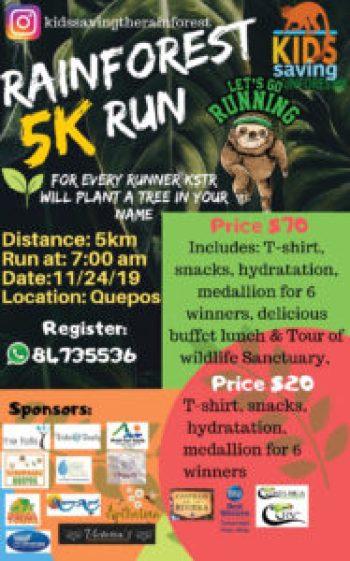 KSTR 5K run poster