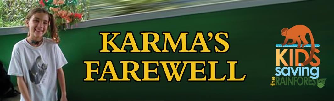 Karma's farewell header