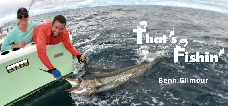 Man releasing a sailfish