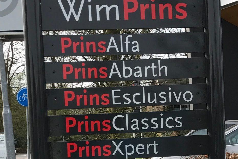 Reclamezuil Wim Prins