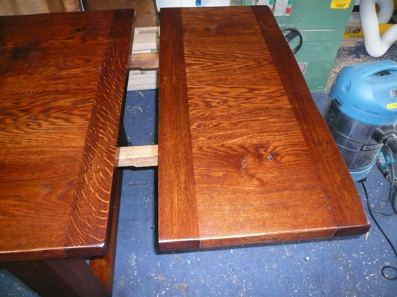 45cm Extension Leaf on Extending Refectory Table