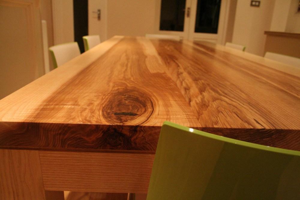 Contemporary Bespoke Handmade Ash Dining Table