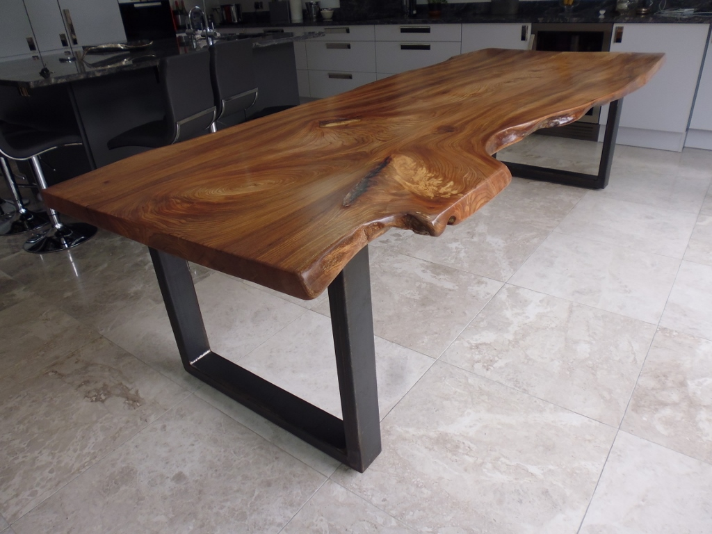 Bespoke Waney Edge Dining Table Quercus Furniture