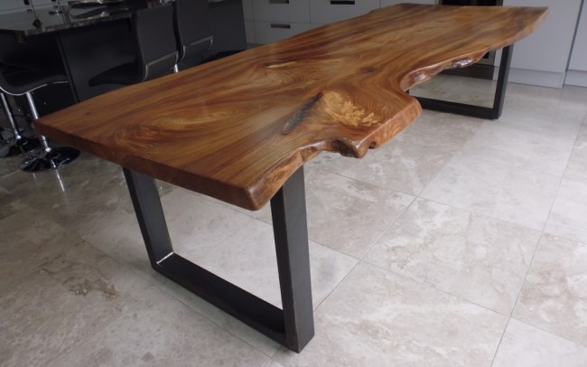 Bespoke Waney Edge Dining Table