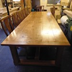 Bespoke Oak Refectory Table