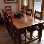 Handmade Refectory Table