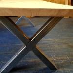 Single slab Oak table