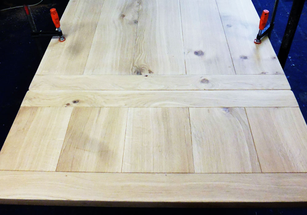 Handmade Oak Extending Table Work In Progress