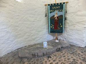St Melangell's grave
