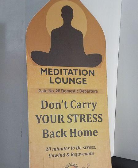 Hyderabad Airport Meditation