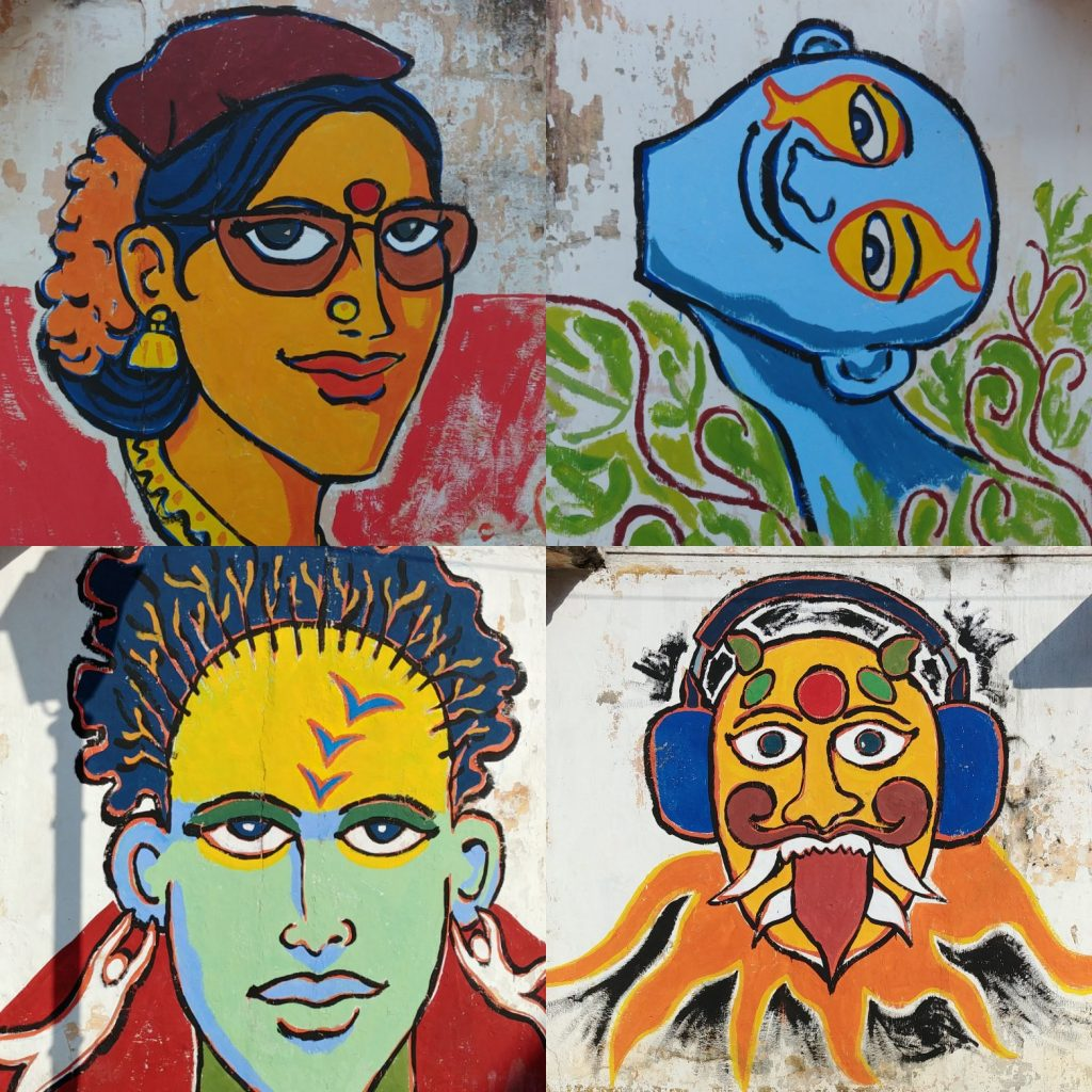 Pondicherry graffiti