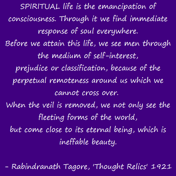 Tagore - Ineffable Beauty
