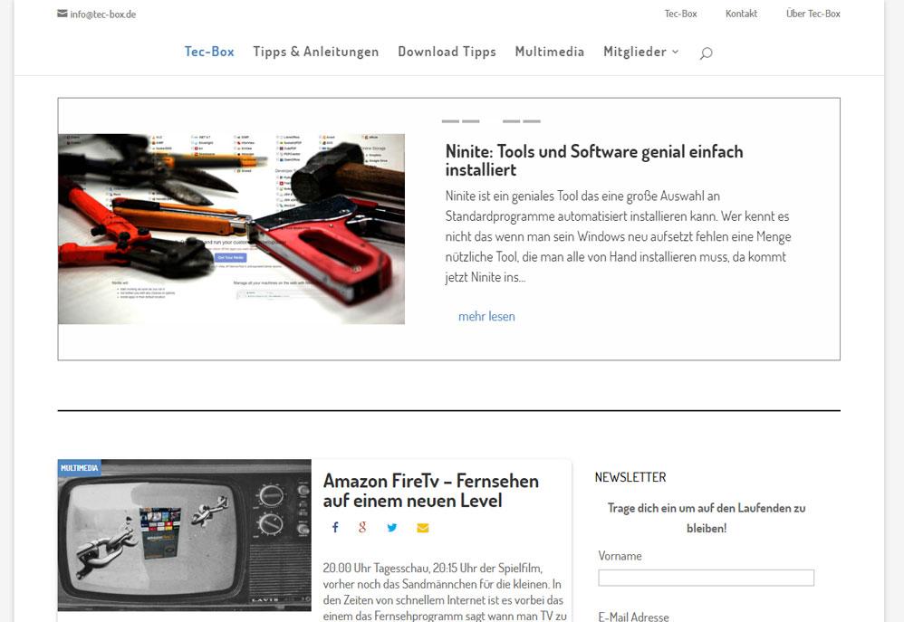 IT - Technik Webseite mit Tipps, Tricks und Tutorials aus dem Computeralltag.