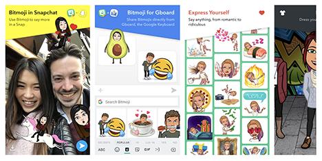 bitmoji-android-popular-emoji-mobile-apps