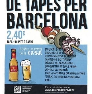ruta de tapes per barcelona