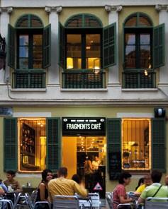 FRAGMENTS CAFE 2TERRAZA ROMÁNTICA que se cuece en bcn restaurantes románticos para san valentin barcelona