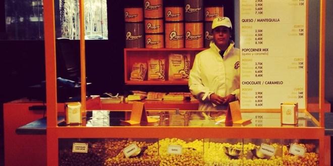 POPCORNER Popcornershops barcelona palomitas tienda que se cuece en bcn