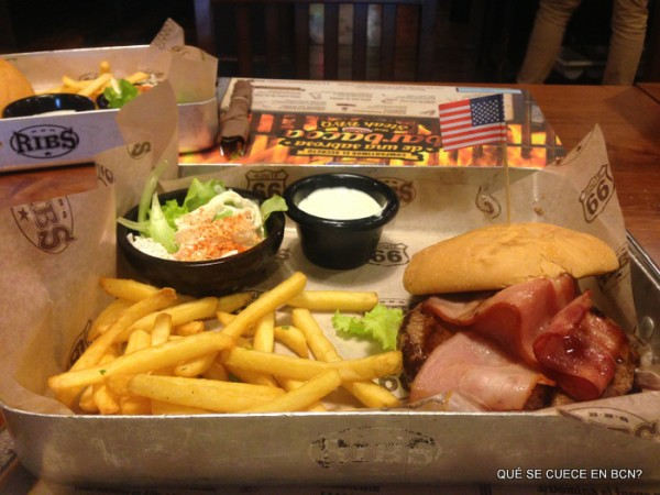 Angus American Bacon Burger