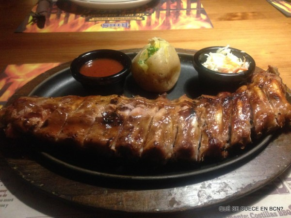Genuine BBQ Ribs