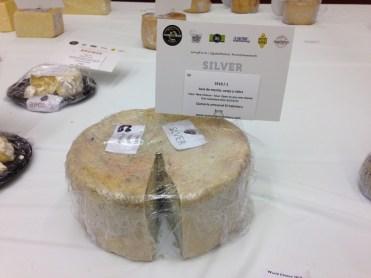 Medalla de plata como mejor nuevo queso azul del mundo El Cabriteru Arenas de Cabrales