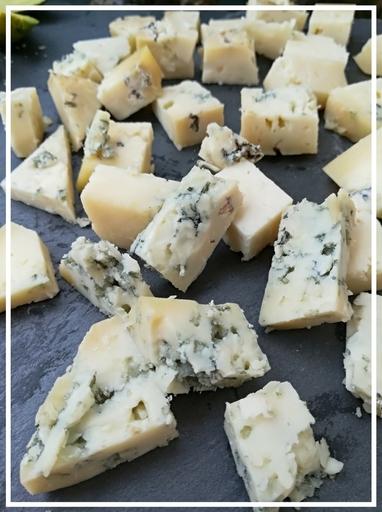 Tabla de quesos Quesería artesanal El Cabriteru