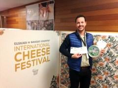 El Cabriteru premios en el World Cheese Awards
