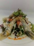 Restaurante Casa JuanSabeli y quesos azules de El Cabriteru