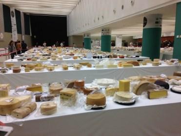 El Cabriteru en los World Cheese Awards mesas quesos