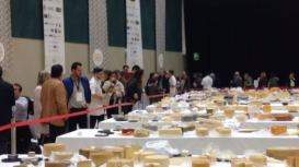 mesas quesos en el World Cheese Awards