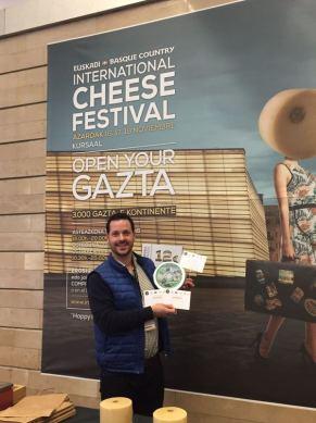 El Cabriteru premiado World Cheese Awards