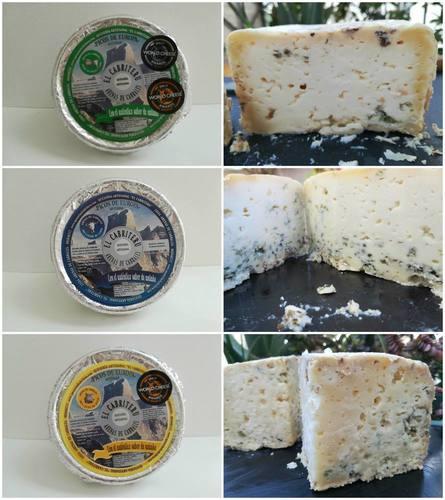 Variedades quesos azules de El Cabriteru