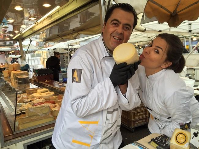 Sara et Fernando au Pays des milles fromages