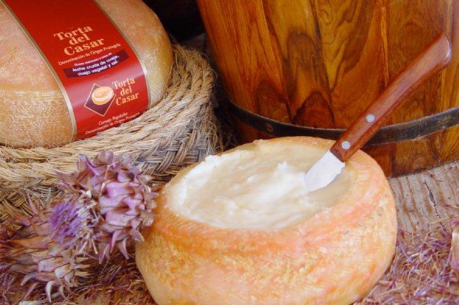Torta del Casar, quesos españoles