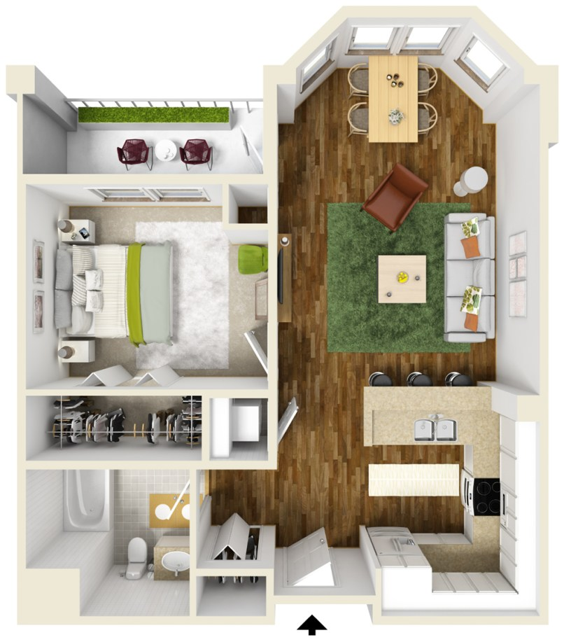 How Much Is A One Bedroom Apartment Everdayentropy Com
