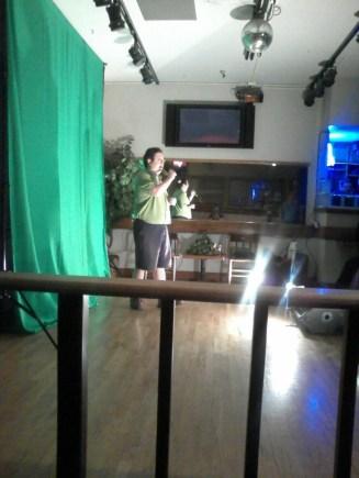 Singing at Quackers