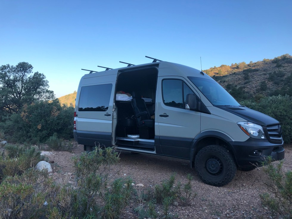 Sprinter Van Camping Arizona