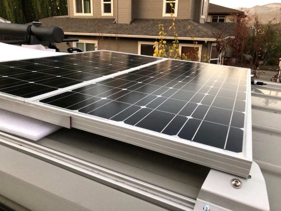 Installing 200W of Renogy solar panels on our Sprinter Van - Quest